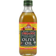 Органическое оливковое масло первого отжима Bragg 473мл.
