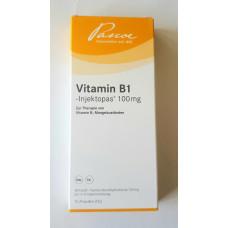 Витамин В 1 100мг.  10 ампул  Pascoe pharm