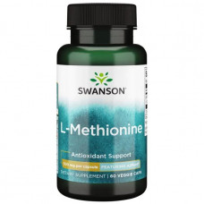 Swanson Ultra - L-метионин - с добавлением AjiPure 60 капсул