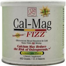 Шипучий напиток с кальцием и магнием Fizz лимон-лайм, 492 гр
