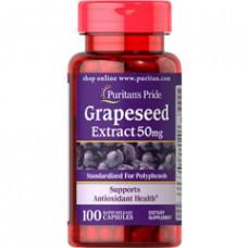 Экстракт виноградных косточек 50 мг 100 капс. / Grapeseed Extract 50 мг 100 капс.