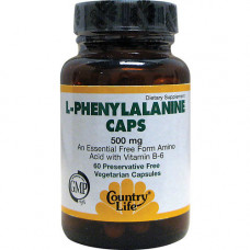 Фенилаланин (L-Phenylalanine) (500 мг) 60 капс.