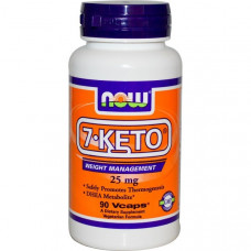 Now Foods, 7-KETO, 25 мг, 90 капсул