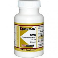 Kirkman Labs, ДМГ (Диметилглицин), 125 мг, 100 капсул