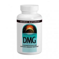 Source Naturals, Диметилглицин (DMG), 100 мг, 60 таблеток