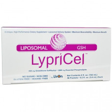 LypriCel, Липосомальный глутатион сульфгидрил, 30 пакетиков, 0,2 жидких унций (5,4 мл) каждый