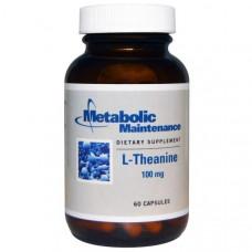 Metabolic Maintenance, L-Theanine, 100 mg, 60 Caps