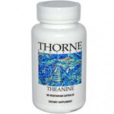 Thorne Research, Теанин, 90 вегетарианских капсул