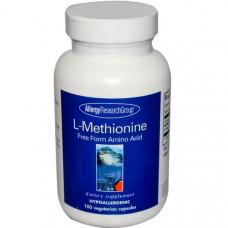 Allergy Research Group, L-метионин, 100 вегетарианских капсул