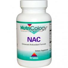 Nutricology, NAC, 90 таблеток