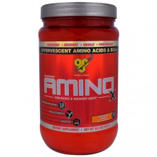 BSN, Amino-X, Endurance & Recovery Agent, Strawberry Orange 15.3 oz (435 g)
