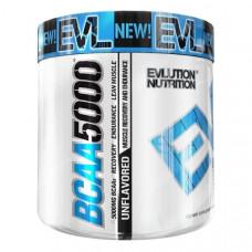 EVLution Nutrition, BCAA 5000, Без Вкусовых Добавок, 10,6 унций (300 г)