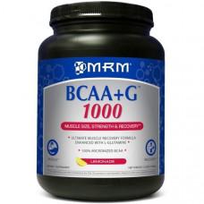 MRM, BCAA + G 1000, со вкусом лимонада, 2,2 фунта (1000 г)