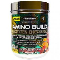 Muscletech, Amino Build Next Gen Energized, Fruit Punch Splash, 280 г (9,86 унций)