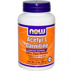 Now Foods, Ацетилкарнитин, 3 унций (85 г)
