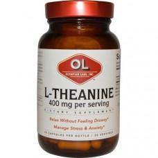 Olympian Labs Inc., L-теанин, 400 мг, 60 капсул