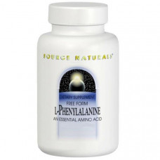 Source Naturals, L-фенилаланин, 500 мг, 100 таблеток