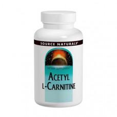 Source Naturals, Ацетил L-карнитин , 250 мг, 120 таблеток