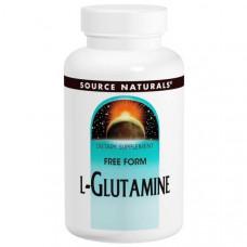 Source Naturals, L-глутамин, 500 мг, 100 капсул