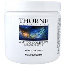 Thorne Research, Аминокислотный Комплекс с Лимонным Вкусом, 7,7 унций (219 г)