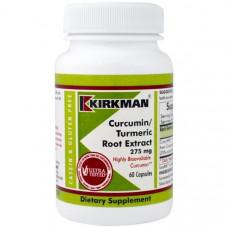 Kirkman Labs, Куркумин/Экстракт Корня Куркумы, 275 мг, 60 капсул