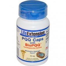 Life Extension, PQQ Caps with BioPQQ, 10 мг, 30 вегетарианских капсул