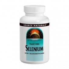 Селен в форме L-селенометионина Source Naturals 200 мкг, 120 таблеток