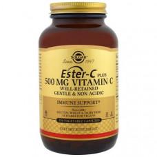 Solgar, Ester-C Plus, 500 мг, 250 капсул в растительной оболочке
