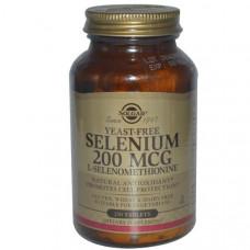 Селен Solgar 200 мкг, 250 таблеток