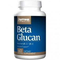 Jarrow Formulas, Бета-глюкан, Поддержка иммунитета, 60 капсул