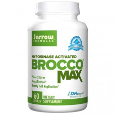 Jarrow Formulas, BroccoMax, усиленный микросиназой, 60 капсул