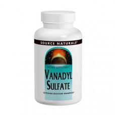 Ванадила сульфат Source Naturals 10 мг, 100 таблеток