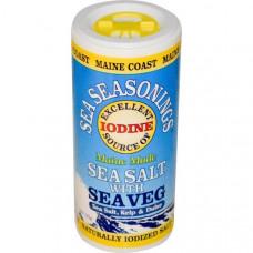 Maine Coast Sea Vegetables, Морские приправы, морская соль с морскими овощами, 1,5 унции (43 гр)