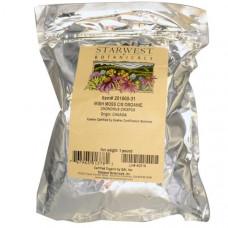 Starwest Botanicals, Органический ирландский мох рубленый и просеянный, 16 унций (1 фунт)