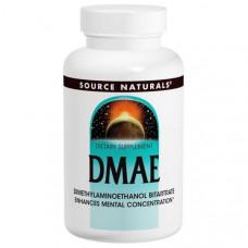 Source Naturals, ДМАЭ, 351 мг, 200 таблеток