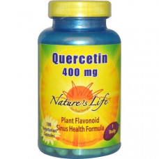Natures Life, Кверцетин, 400 мг, 100 капсул