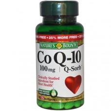 Natures Bounty, Коэнзим Q-10, Q-Sorb, 100 мг, 75 гелевых капсул