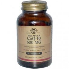 Solgar, CoQ10, Коэнзим 30 гелевых капсул