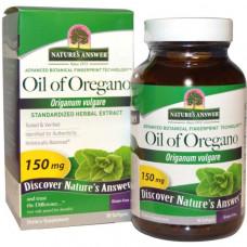 Natures Answer, Масло орегано, душицы обыкновенной, 150 мг, 90 мягких желатиновых капсул