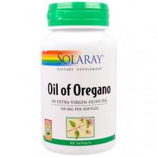 Solaray, Масло орегано, 150 мг, 60 капсул