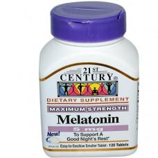 21st Century, Мелатонин, 5 мг, 120 таблеток