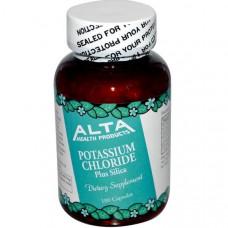 Калия хлорид и кремния диоксид Alta Health, 100 капсул