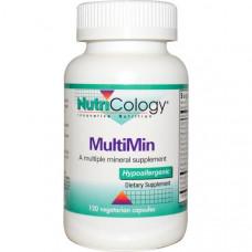 Мультиминеральная добавка MultiMin Nutricology, 120 капсул