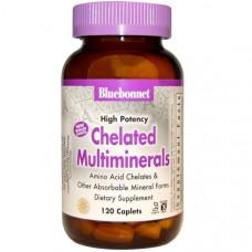Хелатные минералы Bluebonnet Nutrition, 120 капсул