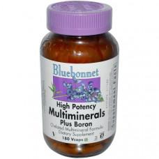 Минеральный комплекс с бором Bluebonnet Nutrition, 180 капсул