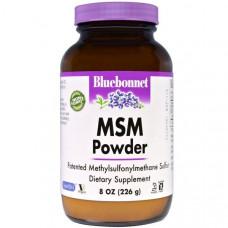 Порошок MSM Bluebonnet Nutrition, 8 унций (226 г)
