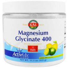 Магний глицинат KAL 400 мг, 315 г