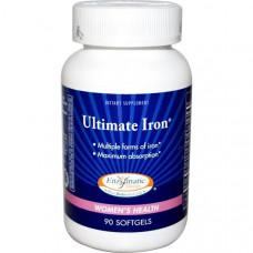 Комплекс с железом для женского здоровья Enzymatic Therapy, 90 таблеток