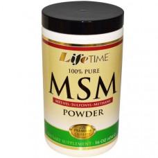 Порошок МСМ Life Time, 16 унций (454 г)