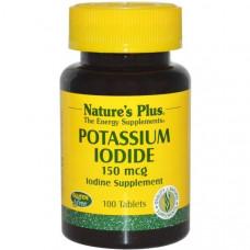 Калия йодид Natures Plus 150 мкг, 100 таблеток